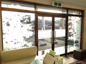 日当たりの良い待合室