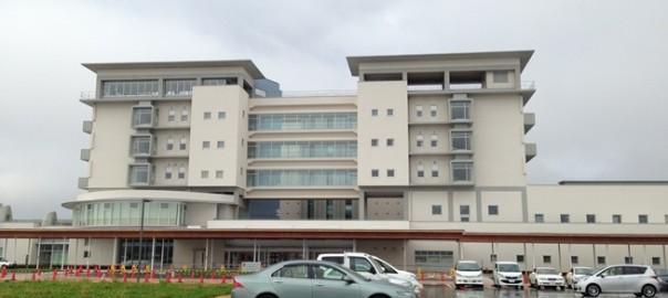 会津医療センター外観